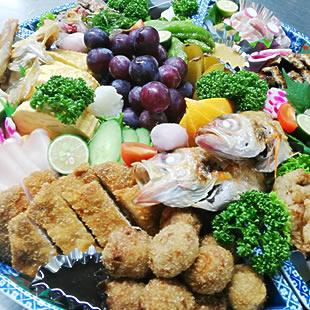 仕出し・お惣菜・お弁当のイメージ